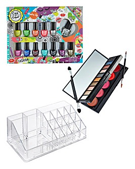 Deluxe Nail, Eye & Lip Set Organiser