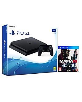 PS4 Slim 1TB Console  Mafia III