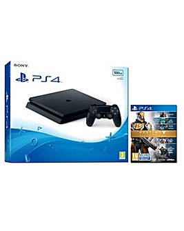PS4 Slim500gb Inc Destiny The Collection