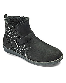 Sole Diva Jewelled Boots E Fit