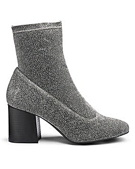 Sole Diva Rosie Stretch Sock Boot EEE