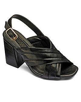 Sole Diva Crossover Sandals E Fit