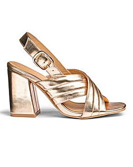 Sole Diva Crossover Sandals E Fit