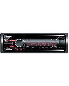 Sony Bluetooth CD Car Stereo with USB