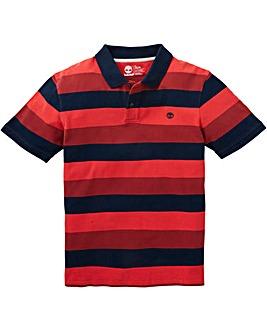 Timberland Stripe Pique Polo