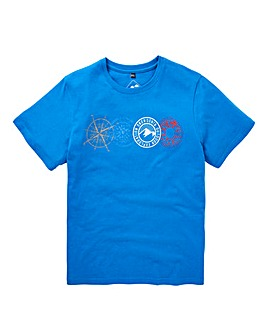 Snowdonia Compass T-Shirt Long