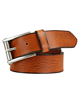 Souled Out Tan Full Grain Leather Belt
