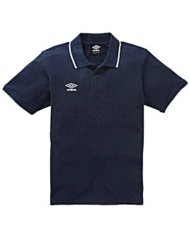 Umbro Tipped Polo Regular