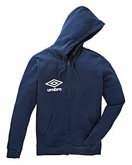 Umbro Full Zip Fleece Hoody Regular