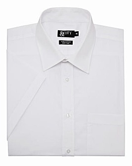 &City Mighty Half Sleeve Plain Shirt