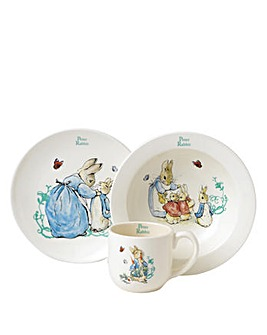 Beatrix Potter Three Piece Nursery Set
