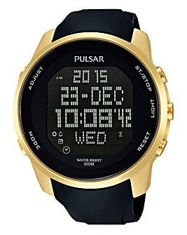 Pulsar Digital Strap Watch and FREE Pen