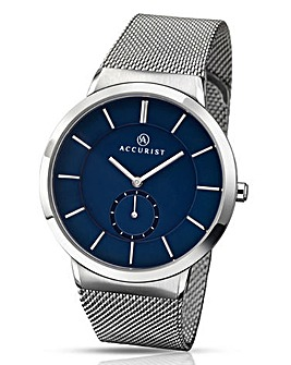 Accurist Gents Mesh Bracelet Watch