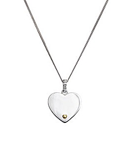 Personalised I Love You Pendant