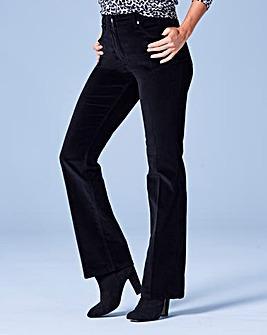 Velvet Bootcut Jeans Regular