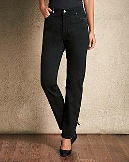Diamante Straight Leg Jeans Regular