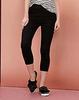 Amber Pull-On Crop Jeggings