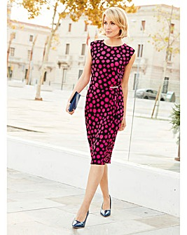 Nightingales Spot Print Dress