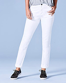 Sadie White Relaxed Jeans Reg