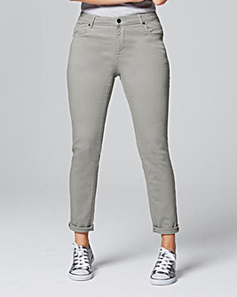 Sadie Sage Green Relaxed Jeans Short