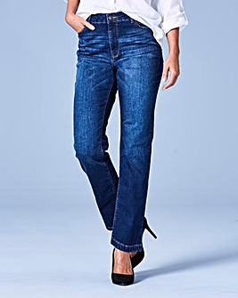 Bridget Straight Leg Jeans Short