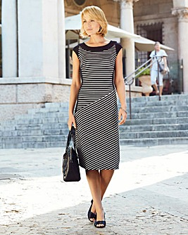 Nightingales Stripe Dress