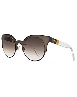 Fendi Round Cateye Sunglasses