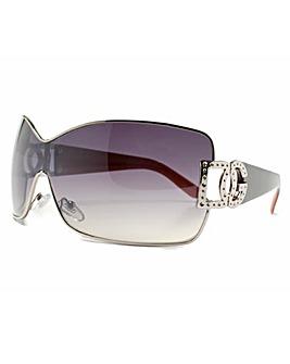 DG Eyewear Brown Frame Sunglasses