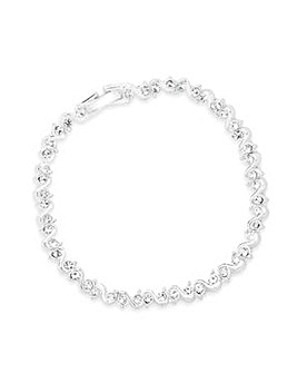 Jon Richard Crystal S Bracelet