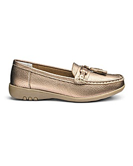 Cushion Walk Leather Loafers E Fit