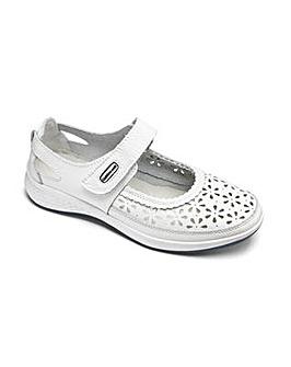 Cushion Walk Leather Bar Shoes D Fit