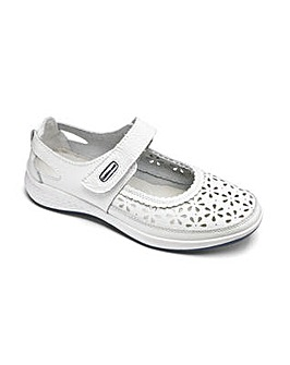 Cushion Walk Leather Bar Shoes E Fit