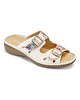 Cushion Walk Mule Sandals EEEEE Fit