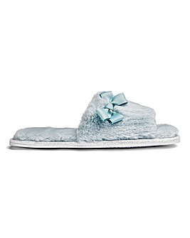 Heavenly Soles Luxury Plush Fur Slide E