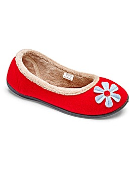 Padders Happy Ballerina Slipper E Fit