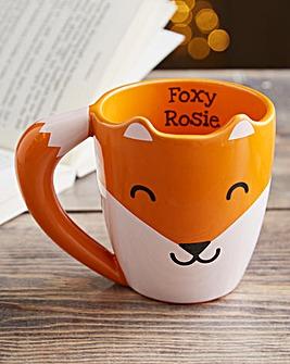Personalised Foxy Mug