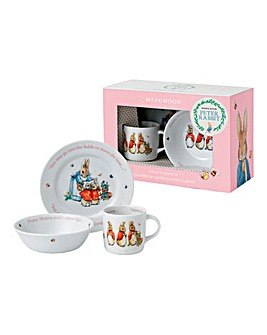 Flopsy Mopsy and Cottontail 3 Piece Set