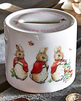 Flopsy Mopsy and Cottontail Money Bank