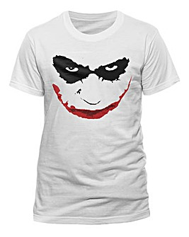 Joker Smile Outline T-Shirt