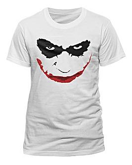 Joker Smile Outline T-Shirt