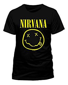 Nirvana Smiley T-Shirt