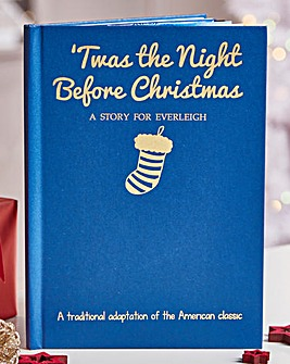 Personalised Night Before Christmas Book