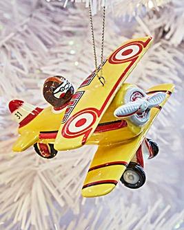 Royal Doulton Toy Aeroplane Ornament