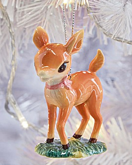Royal Doulton Toy Reindeer Ornament