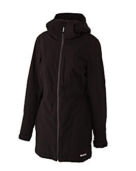 Hi-Tec Mendoza soft shell long jacket