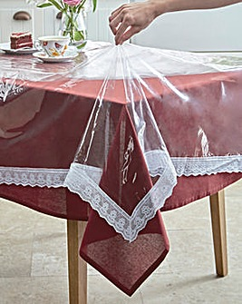 Transparent Table Cloth Cover