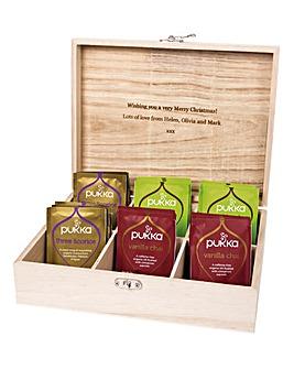 Christmas Tea Box Personalised