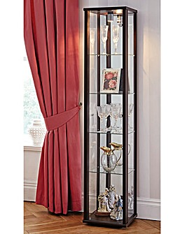 One Door Glass Display Unit with Light