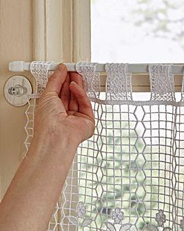 Static Loc Curtain Hook 4 Pack
