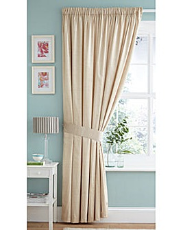 Faux Silk Lined Curtains